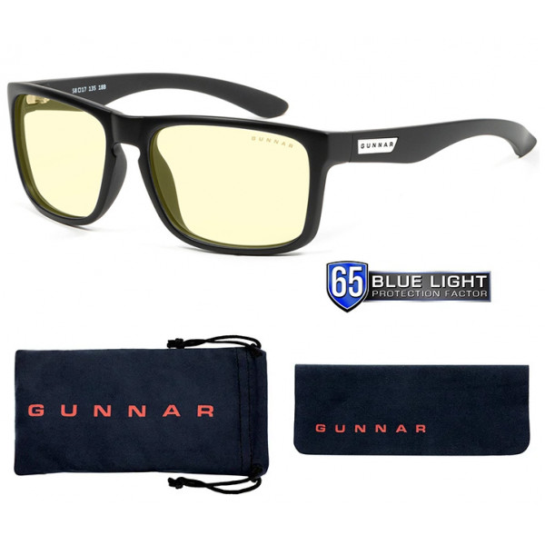 Gunnar Intercept Amber Natural-Focus Onyx